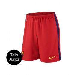 SHORT FC BARCELONA JUNIOR 1a EQUIPACION 15/16