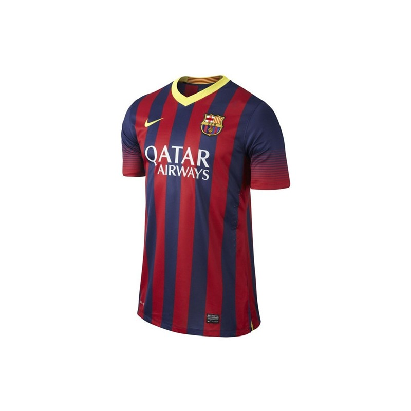 82e70784b2f CAMISETA FC BARCELONA MATCH AUTHENTIC SR 1a EQUIPACION 13 14 de la ...