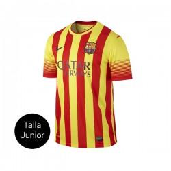 CAMISETA FC BARCELONA SJUNIOR 2a EQUIPACION 13/14