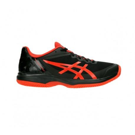 Gel Court Speed Clay negras y rojas