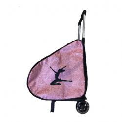 Bolsa Trolley de Charol con ruedas Grande