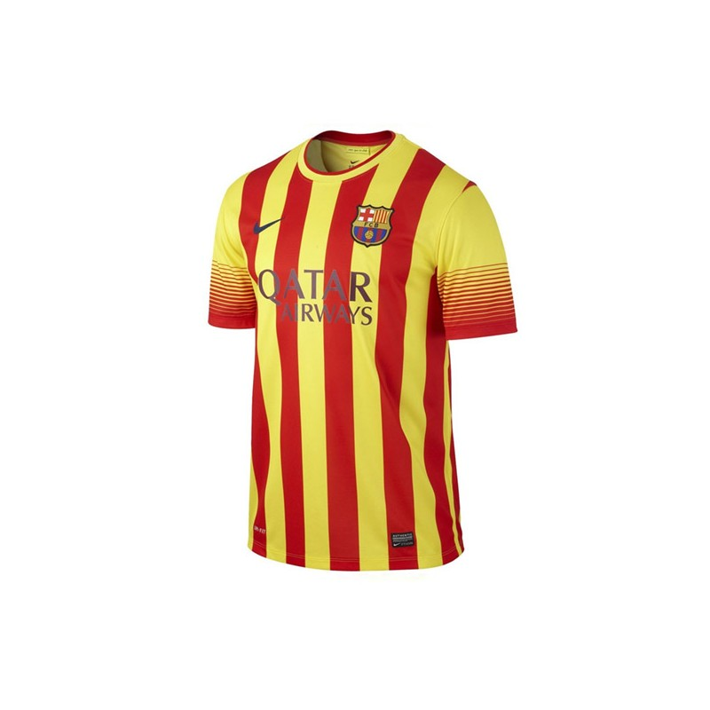 7011499c17 CAMISETA FC BARCELONA SENIOR 2a EQUIPACION 13 14 de la marca NIKE