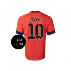 CAMISETA FC BARCELONA JUNIOR 2a EQUIPACION 14/15 MESSI10