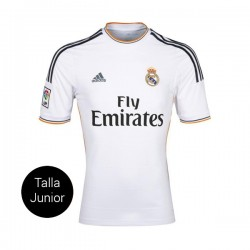 CAMISETA REAL MADRID JUNIOR 1a EQUIPACION 13/14